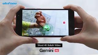 Ulefone Gemini Pro - the Only Phone to Take 4K Bokeh Videos
