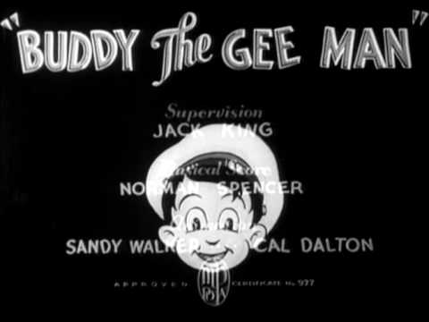Buddy the Gee Man (1935): Original opening and closing titles [True HQ]