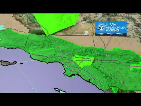 SOCAL STORM FORECAST: Storm douses SoCal with last day of heavy rain before skies clear   ABC7