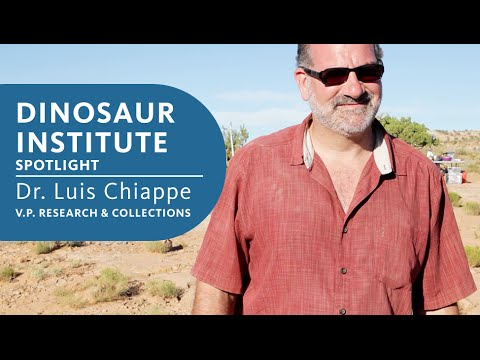 Natural History Museum Of Los Angeles County Luis Chiappe