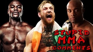 Stupid MMA Comments: McGregor Beats Silva and Mayweather?!?!