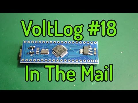 VoltLog #18 - InTheMail: 7020 LED Strip, STM32, STM8, Wireless Remote Dimmer