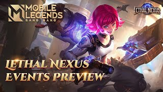 Lethal Nexus | Event Trailer | Mobile Legends: Bang Bang