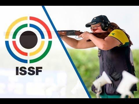 Trap Women Final - 2016 ISSF Shotgun World Cup in San Marino (SMR)