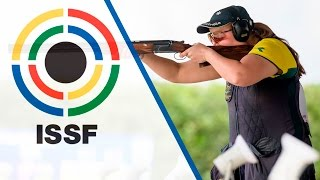 Trap Women Final - 2016 ISSF Shotgun World Cup in San Marino (SMR) thumbnail