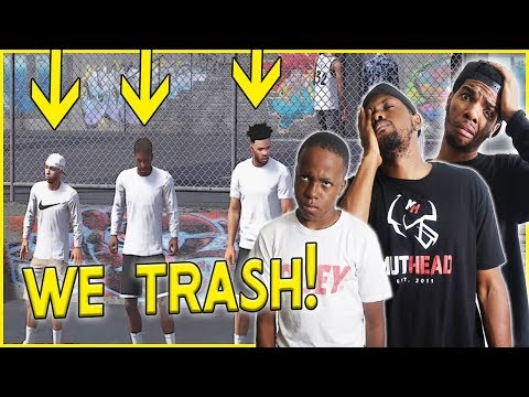THE WORST PARK PLAYERS ARE BACK! - NBA 2k18 Park Gameplay