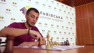 Урок з шахів №4. Мат ферзем самотньому королю