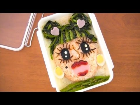 lady gaga bento lunch box kyaraben ochikeron create eat. Black Bedroom Furniture Sets. Home Design Ideas