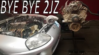 Turbo LS Swapping My Supra