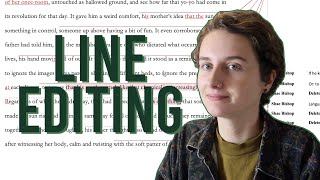 How to Line Eḋit | Editing Your Writing #1!