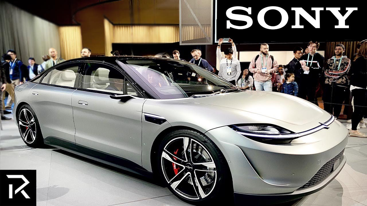 Sony Officially Launches Car To Beat Tesla