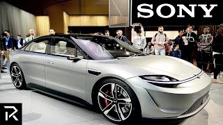 Sony Officially Reveals Car To Beat Tesla