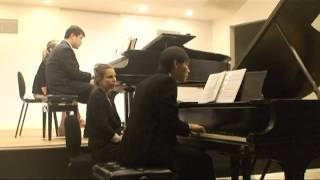 Gustav Holst - The Planets, Op. 32 - VI. Uranus, the Magician (for 2 Pianos)
