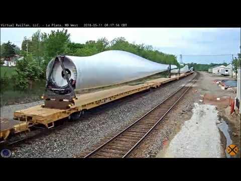 BNSF Special Unit - Wind Turbine Blades