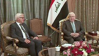 شتاينماير في العراق للتأكيد على دعم الأكراد لمواجهة داعش