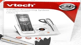 Vtech Cordless Phone & Headset Model LS6475-2 Unboxing & Specs Hosted by Ruby Rock #10