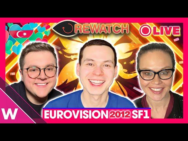 Eurovision 2012 Semi-Final 1 Rewatch (LIVESTREAM REACTION)
