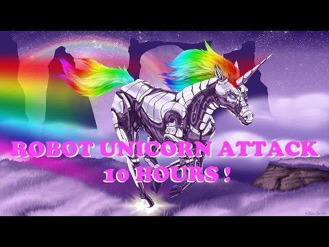 Robot Unicorn Attack - 10 Hours (Best Version)