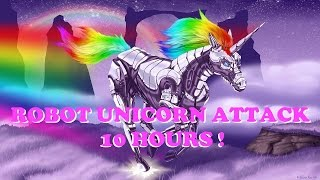 Repeat youtube video Robot Unicorn Attack - 10 Hours (Best version)