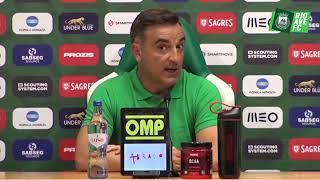 Conferência de imprensa: Rio Ave FC x UD Oliveirense
