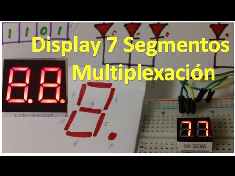 Multiplexing 4 Digit 7-Segment LED Display with Arduino from YouTube · Duration:  2 minutes 56 seconds  · 8.000+ views · uploaded on 18.11.2010 · uploaded by 45percen7