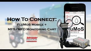 FluMoS mobile | Connecting an MFS/MFD Filtration Cart