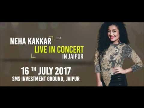 Neha Kakkar Live Concert in Jaipur @ Media Chakra