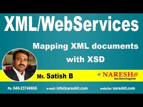 Mapping XML documents with XSD   XML Tutorial   Mr. Satish B