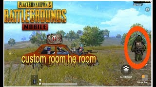 NEW UPDATE AA GYAA :) BHAIYOO[Hindi] PUBG MOBILE JOIN CUSTOM ROOM HE ROOM | PLAYING WITH SUBS