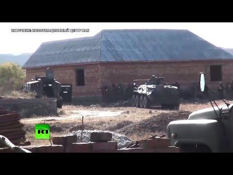 НАК опубликовал видео операции по ликвидации боевиков в Дагестане