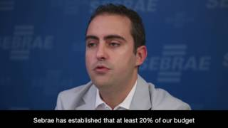 Sebrae Brazil Manager on Innovation and Small Businesses thumbnail