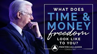 What Does Time and Money Freedom Look Like to You?