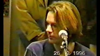 Bruce Dickinson - Paris 26.02.1996 (acoustic gig at record store)