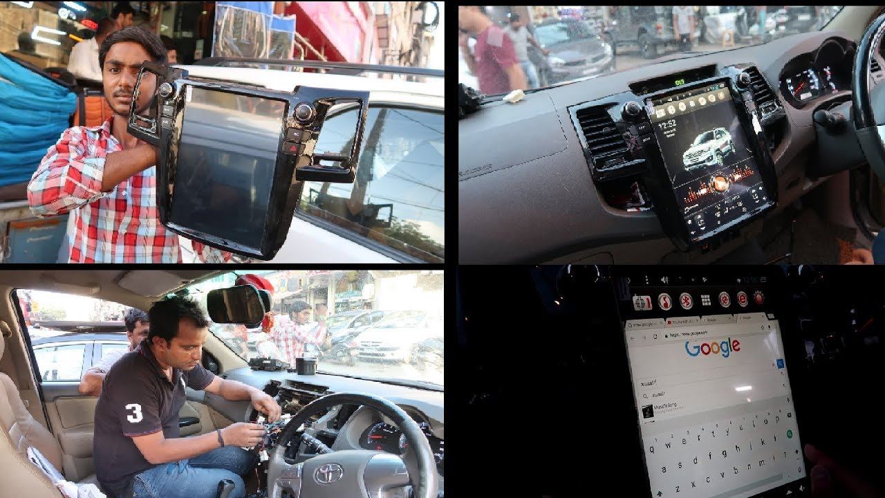 Tesla-style touchscreen on Toyota Fortuner [Video]