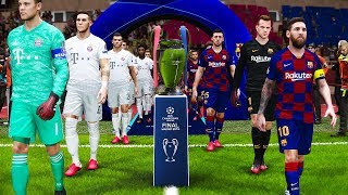 This video is the gameplay of uefa champions league 2020 final - barcelona vs bayern munich if you want to support on patreon https://www.patreon.com/pesme s...
