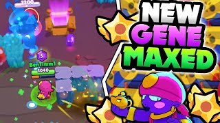 GENE MAXED! NEW GENE STAR POWER GAMEPLAY u0026 BEST TIPS IN BRAWL STARS! MAX GENE GAMEPLAY!