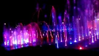 Музыкальный фонтан в Израиле, г. Эйлат