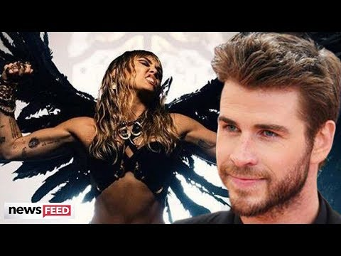 Miley Cyrus Seemingly SHADES Liam Hemsworth In 'Don't Call Me Angel' Music Video!