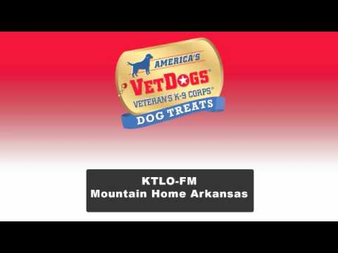 VetDogs Products On Air in Arkansas