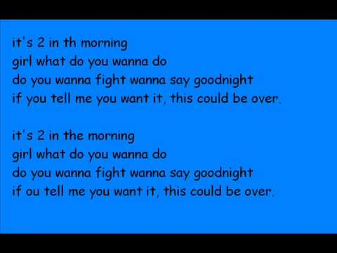 2 in the morning - NKOTB(with lyrics)