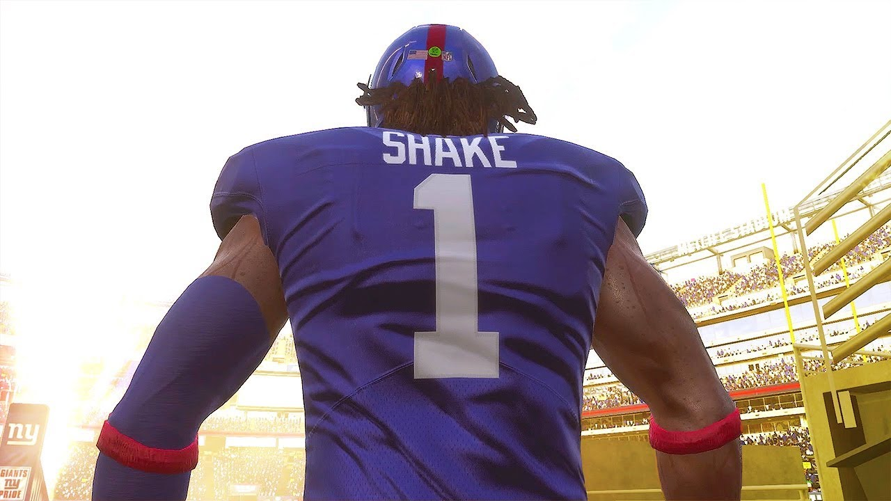 Madden 19 QB Career #1 - Eli Manning Is BENCHED! Saquon Barkley Emerges