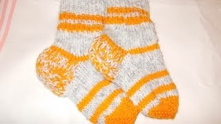 Вязание спицами носки для детей-малышей (детские носочки)(Вязание спицами носки для детей-малышей (детские носочки) http://bringingsuccess.ru/vyazanie.php Посмотрев данное видео,..., 2014-02-04T21:44:56.000Z)