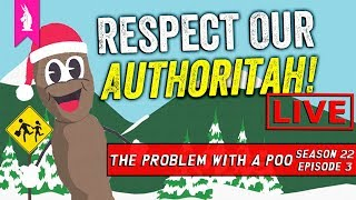 The Season of Defeat? – 'The Problem With a Poo ' (S22E03) – Respect Our Authoritah! LIVE