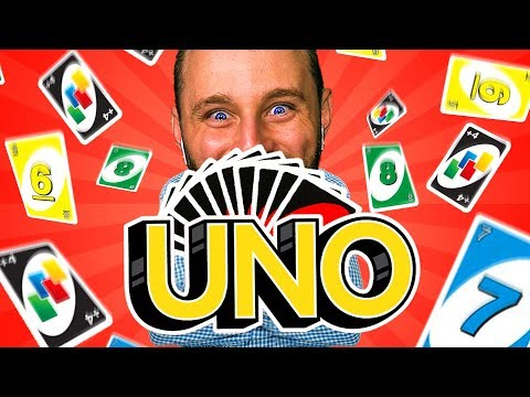 UNO: WHO CAN LOSE IT ALL AND WIN?! Uno Card Game