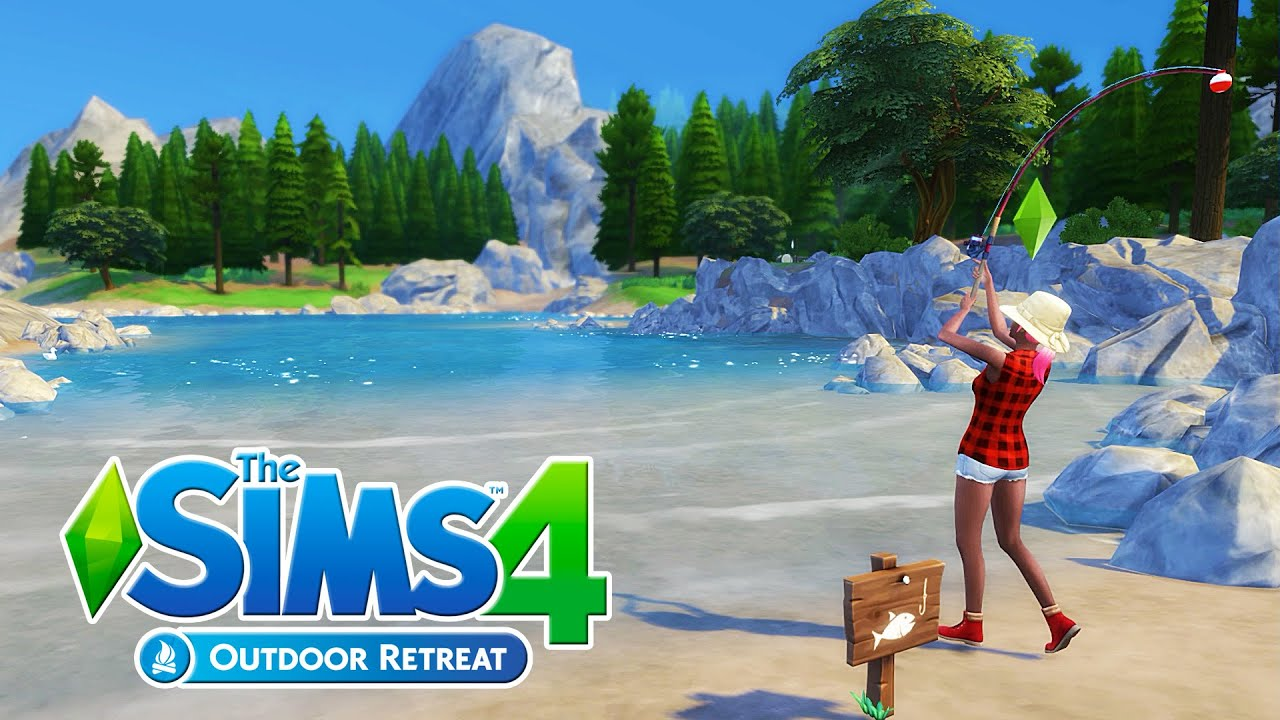 The Sims 4 Outdoor Retreat Gameplay! | Part 1 - YouTube