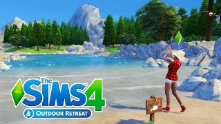 The Sims 4 Outdoor Retreat Gameplay! | Part 1