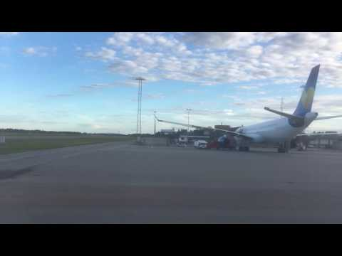 Eurowings Flight EW 4197 departure from Oslo to Hamburg OSL - HAM 20160628