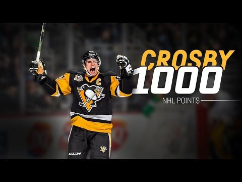 Crosby 1000 Point Montage!