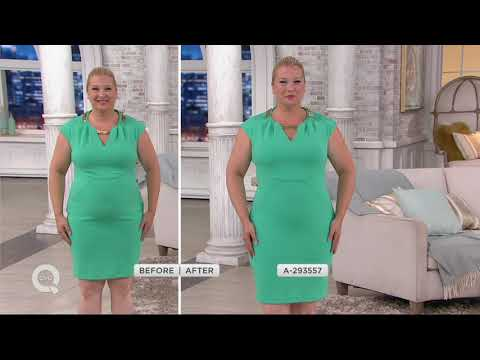 Spanx Oncore Mid-Thigh Bodysuit on QVC