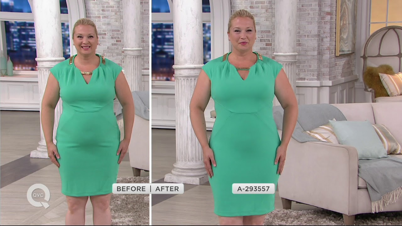 51701727ae242 Spanx Oncore Mid-Thigh Bodysuit on QVC - YouTube